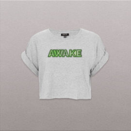 women_crop-top_AWAKE-neon-green-logo